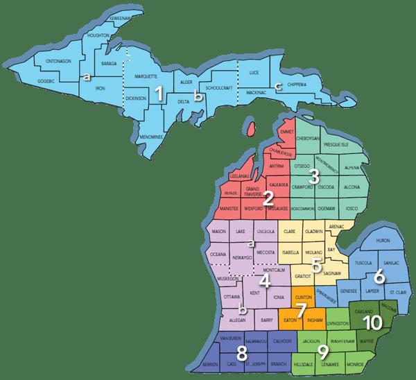 MichiganRegionalMap - MITC